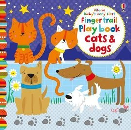 Baby's Very First. Fingertrail Play book. Cats and Dogs - фото книги