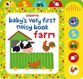 Baby's Very First. Noisy Book. Farm - фото обкладинки книги