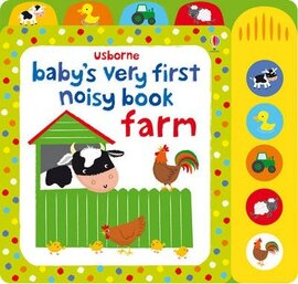 Baby's Very First. Noisy Book. Farm - фото книги