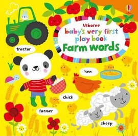 Baby's Very First. Play Book. Farm Words - фото книги