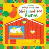 Baby's Very First. Slide and See Farm - фото обкладинки книги