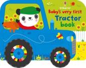 Baby's Very First. Tractor Book - фото обкладинки книги