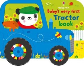 Baby's Very First. Tractor Book - фото книги