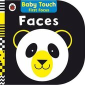 Baby Touch First Focus: Faces - фото обкладинки книги