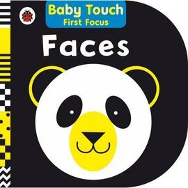 Baby Touch First Focus: Faces - фото книги