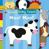 Baby Touch: Moo! Moo! Tab Book. 0-2 years - фото обкладинки книги