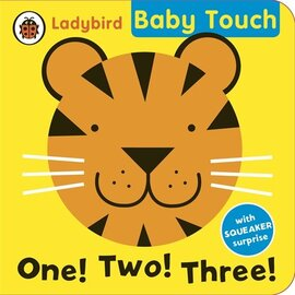 Baby Touch: One! Two! Three! bath book - фото книги