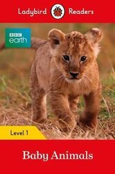 BBC Earth: Baby Animals - Ladybird Readers Level 1 - фото обкладинки книги