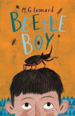 Beetle Boy - фото книги