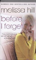 Книга Before I Forget