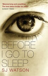 Before I Go to Sleep - фото обкладинки книги