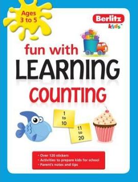 Berlitz Fun With Learning: Counting (3-5 Years) - фото книги