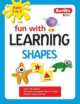 Berlitz Fun With Learning: Shapes (3-5 Years) - фото книги