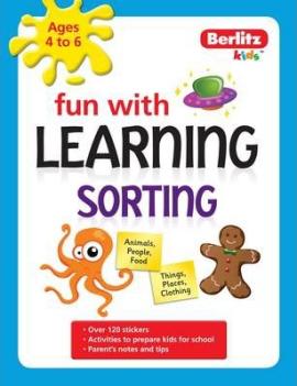 Berlitz Fun With Learning: Sorting (4-6 Years) - фото книги
