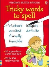 Better English: Tricky Words to Spell. Cards - фото обкладинки книги