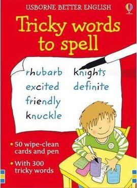 Better English: Tricky Words to Spell. Cards - фото книги