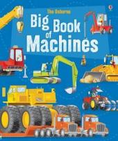 Big Book of Big Machines - фото обкладинки книги