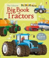 Big Book of Tractors - фото обкладинки книги