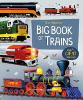 Big Book of Trains - фото обкладинки книги