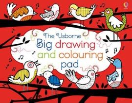 Big Drawing, Dooling and Colouring tear-off Pad - фото книги