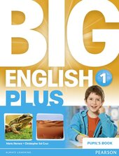 Big English Level 1 Plus Students Book (підручник) - фото обкладинки книги