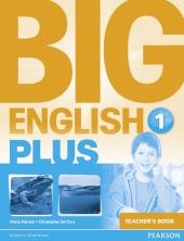 Big English Plus Level 1 Teacher's Book (книга вчителя) - фото обкладинки книги