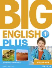 Big English Plus Level 1 Workbook - фото обкладинки книги
