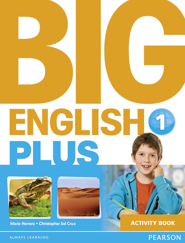 Робочий зошит Big English Plus Level 1 Workbook