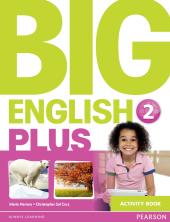 Big English Plus Level 2 Workbook - фото обкладинки книги