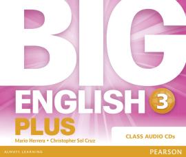 Big English Plus Level 3 CD's (аудіодиск) - фото книги