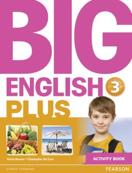 Big English Plus Level 3 Workbook - фото книги