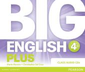 Big English Plus Level 4 CD's (аудіодиск) - фото обкладинки книги