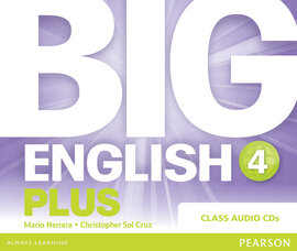 Big English Plus Level 4 CD's (аудіодиск) - фото книги
