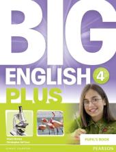 Big English Plus Level 4 Student's Book (підручник) - фото обкладинки книги
