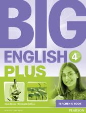 Big English Plus Level 4 Teacher's Book (книга вчителя) - фото обкладинки книги