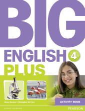 Big English Plus Level 4 Workbook - фото обкладинки книги