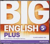 Big English Plus Level 5 CD's (аудіодиск) - фото обкладинки книги