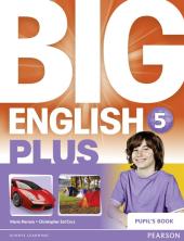 Big English Plus Level 5 Student's Book (підручник) - фото обкладинки книги