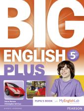 Big English Plus Level 5 Student's Book with My English Lab Access Code Pack (підручник) - фото обкладинки книги