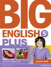 Big English Plus Level 5 Workbook - фото обкладинки книги