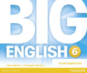 Big English Plus Level 6 CD's (аудіодиск) - фото обкладинки книги