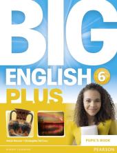 Big English Plus Level 6 Student's Book (підручник) - фото обкладинки книги
