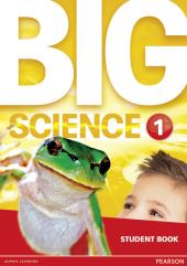 Big Science Level 1 Students Book (підручник) - фото обкладинки книги