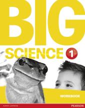 Big Science Level 1 Workbook (робочий зошит) - фото обкладинки книги
