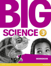 Big Science Level 3 Workbook (робочий зошит) - фото обкладинки книги