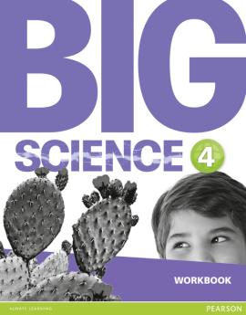 Big Science Level 4 Workbook (робочий зошит) - фото книги