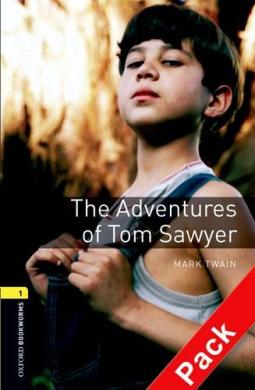 BKWM 3rd Edition 1: Adventures of Tom Sawyer with Audio CD (книга та аудіодиск) - фото книги