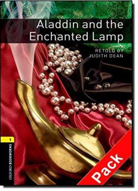 BKWM 3rd Edition 1: Aladdin and the Enchanted Lamp with Audio CD (книга та аудіодиск) - фото книги