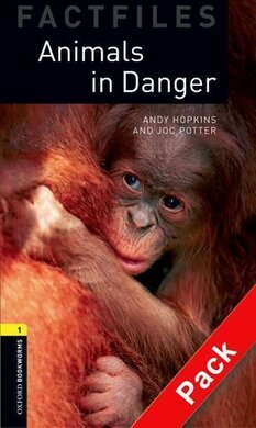 BKWM 3rd Edition 1: Animals in Danger Factfile with Audio CD (книга та аудiодиск) - фото книги