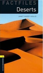 BKWM 3rd Edition 1: Deserts Factfile - фото обкладинки книги
